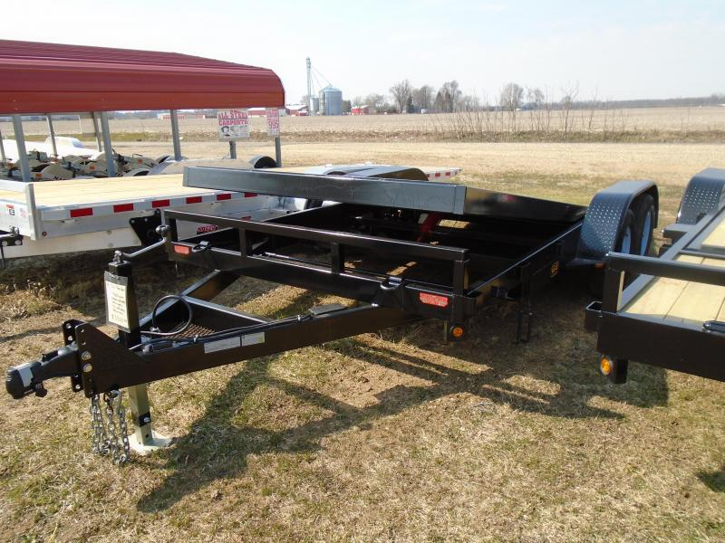 2021 GE 18' tilt 7k Equipment Trailer