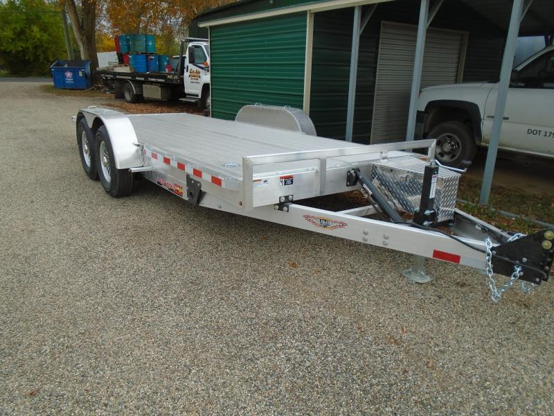 "2021 H and H Trailer 82""x18' 14K EX Speed loader Car / Racing Trailer"