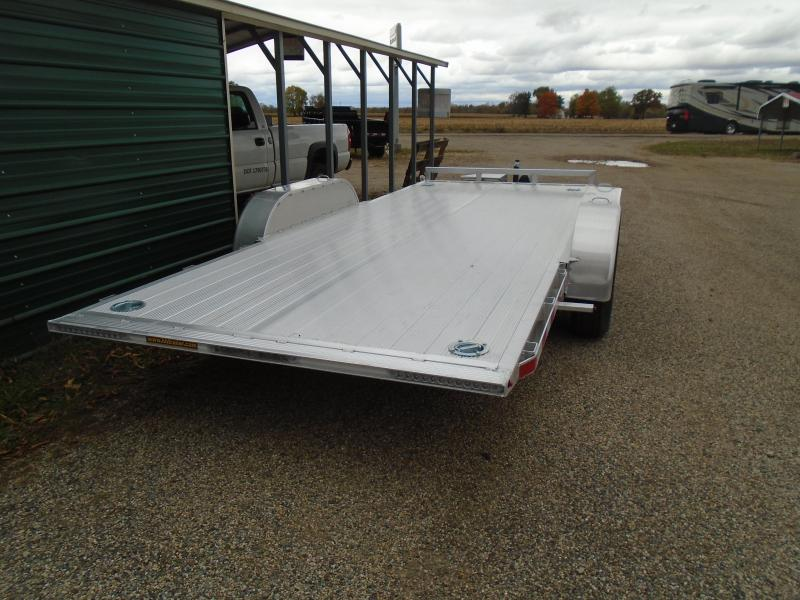 """2021 H and H Trailer 82""""x18' 14K EX Speed loader Car / Racing Trailer"""