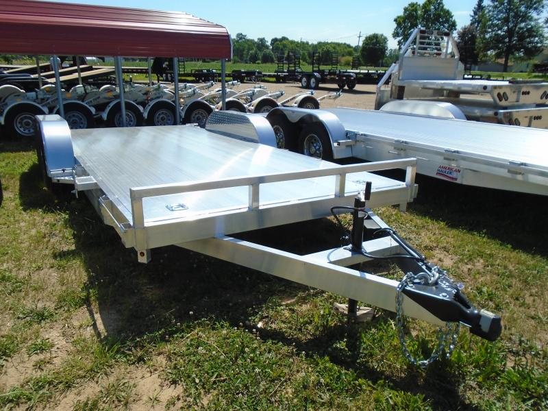 2021 GE 18 Aluminum AutoTransport Car / Racing Trailer