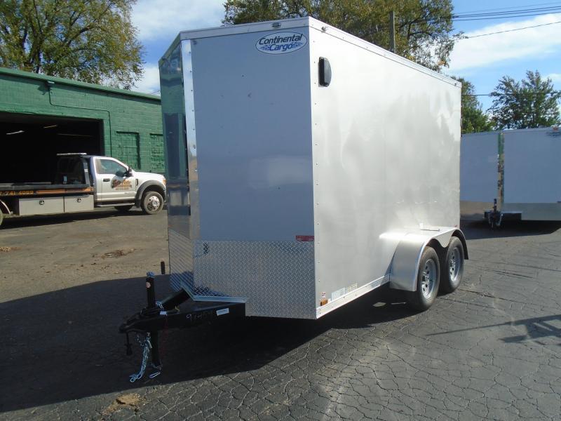 2022 Continental Cargo 6x12 TA V Series Enclosed Cargo Trailer