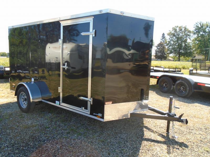 2022 Continental Cargo 6x12 SA V Series Enclosed Cargo Trailer