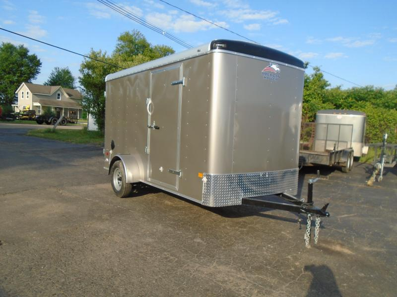 2020 American Hauler 6x10 SA Enclosed Cargo Trailer
