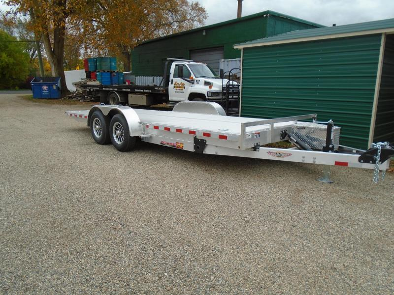 "2021 H and H Trailer 82""x20' 10K EX Speed loader Car / Racing Trailer"