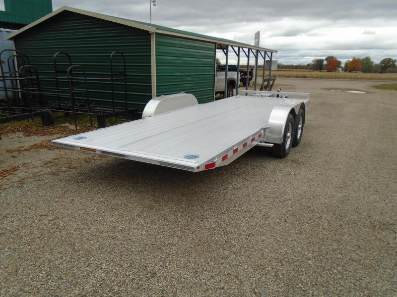 """2021 H and H Trailer 82""""x20' 10K EX Speed loader Car / Racing Trailer"""