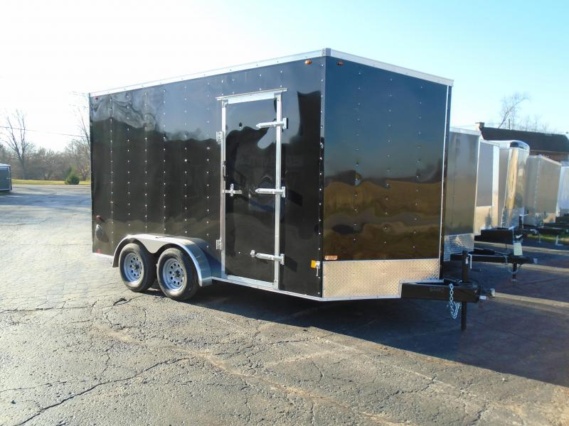 2021 Interstate 1 Trailers 7x14 7k Enclosed Cargo Trailer