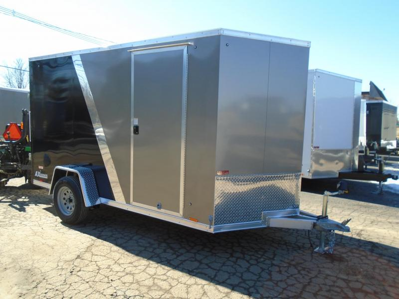 2022 Cargo Express 6x12 AX Series SA All aluminum Enclosed Cargo Trailer