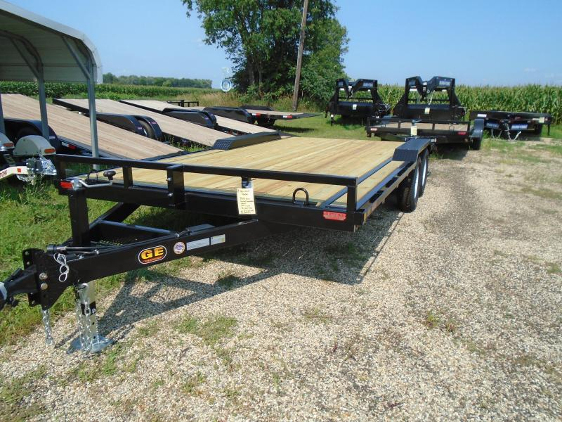 2021 GE 18 Drive Over Fender 7k Equipment Trailer