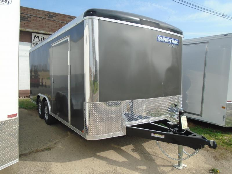 2021 Sure-Trac 8.5x18 Pro Series RT 10k Car / Racing Trailer
