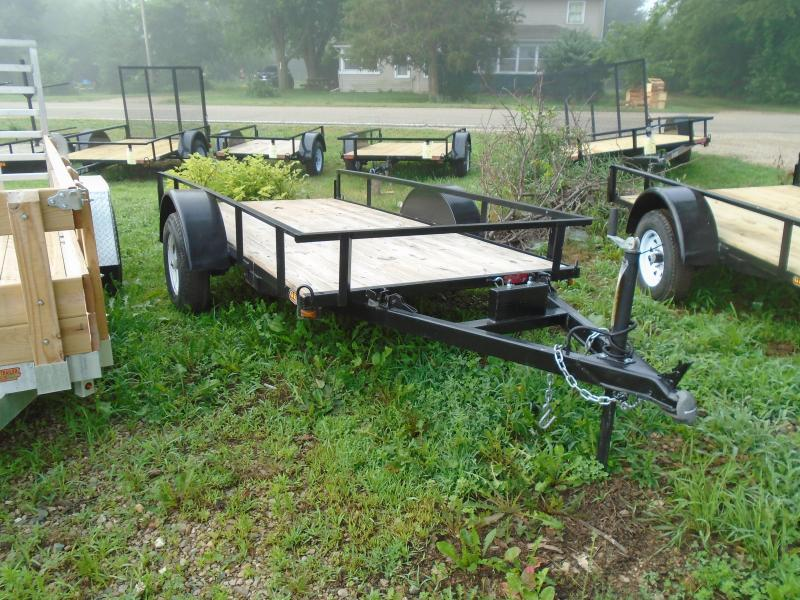 2021 GE 5x10 A Frame light duty 2k tilt Utility Trailer