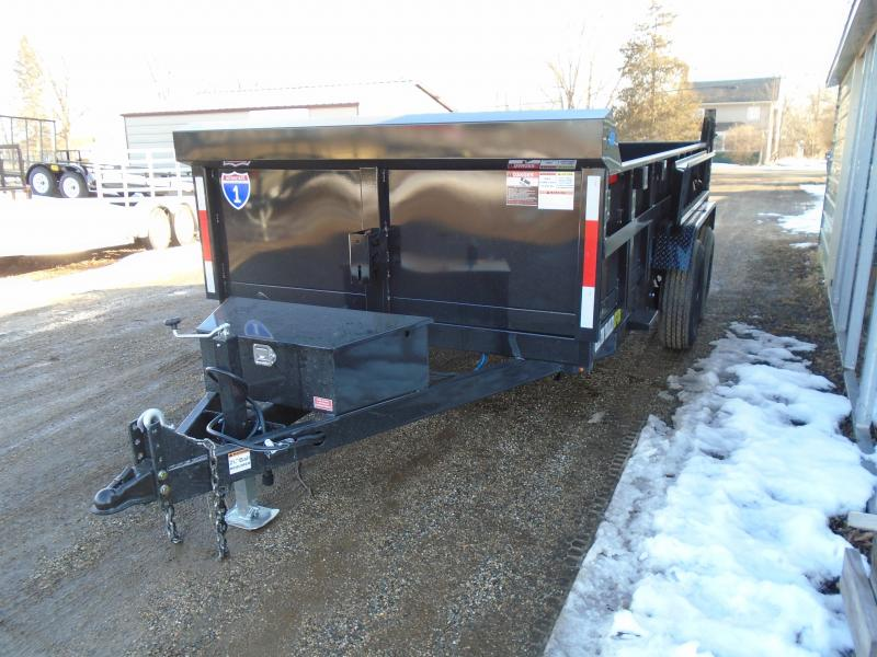 2021 Interstate 1 Trailers 7x14 14k Griffin Dump Trailer