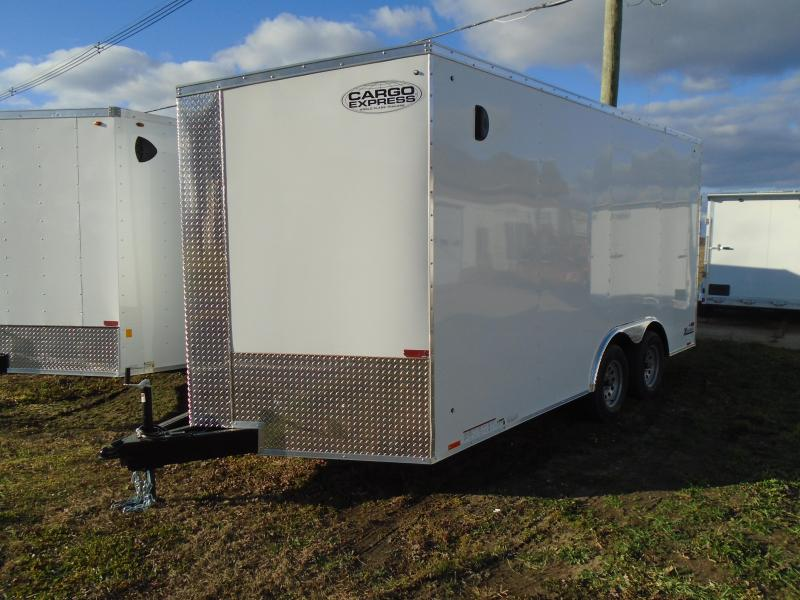 2021 Cargo Express 8.5x16 7k XL Series Enclosed Cargo Trailer