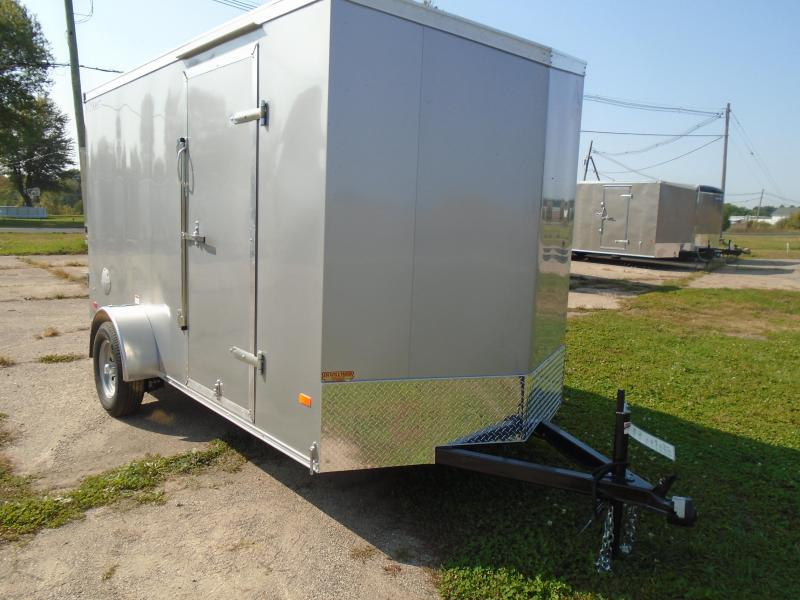 2020 Haul-About 6x12 SA Cougar Enclosed Cargo Trailer
