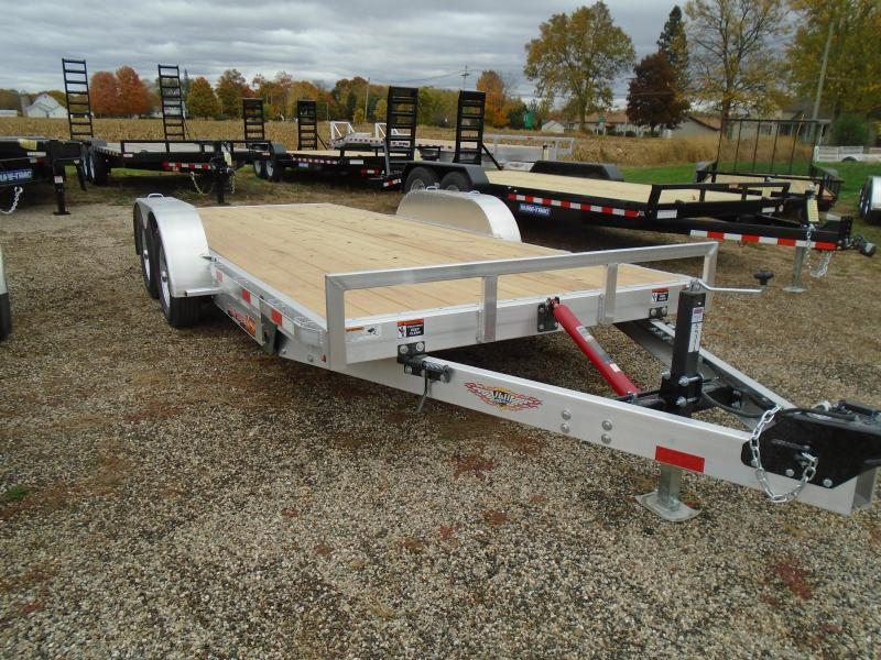 "2021 H and H Trailer 82""x18' MX 7K Speed loader Car / Racing Trailer"