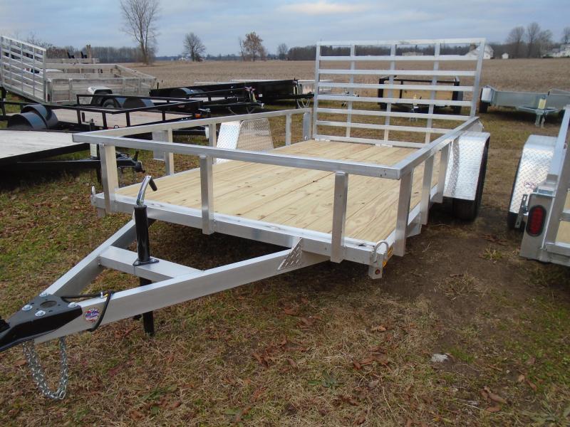 GE 2021 aluminum 7x12 utility trailers