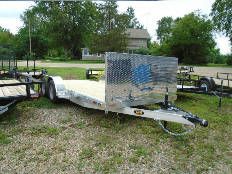 2021 GE 16' Aluminum Autotransport 7k Car / Racing Trailer