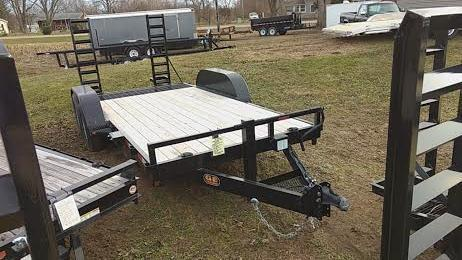 2021 16' Low Pro Bobcat-Machinery GE Equipment Trailer