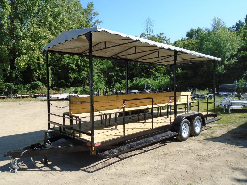 2022 GE 7x20 people mover 7k Trailer