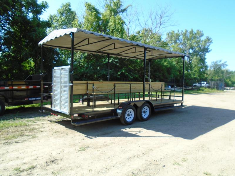 2021 GE 7x20 people mover 7k Trailer