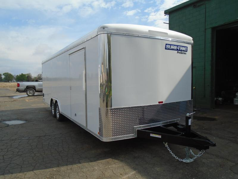 2021 Sure-Trac 8.5x24 10k enclosed Car / Racing Trailer