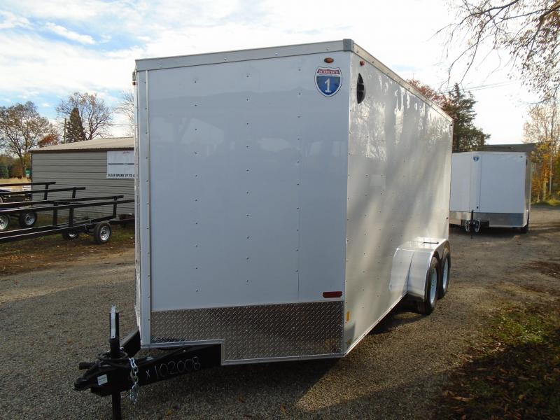 2021 Interstate 1 Trailers 7x16 7K Enclosed Cargo Trailer