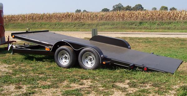 18' All Steel 7k Tilt Bed Carrier
