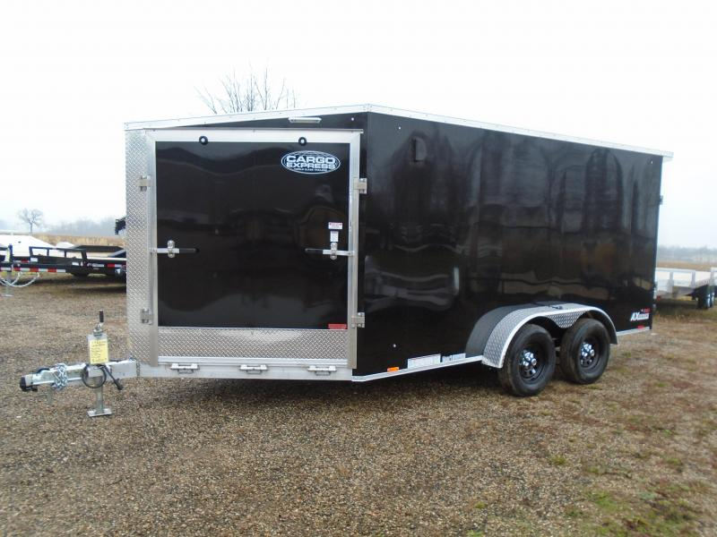 2021 Cargo Express 7X19 7K AX Series Snowmobile Trailer