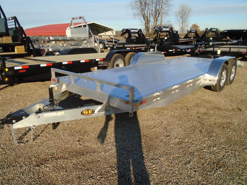 2021 GE All Aluminum 20' 10k Autotransport Car / Racing Trailer