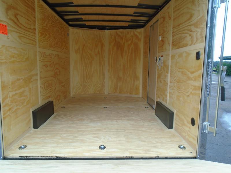 2022 Continental Cargo 7.5x12 SA V Series Enclosed Cargo Trailer