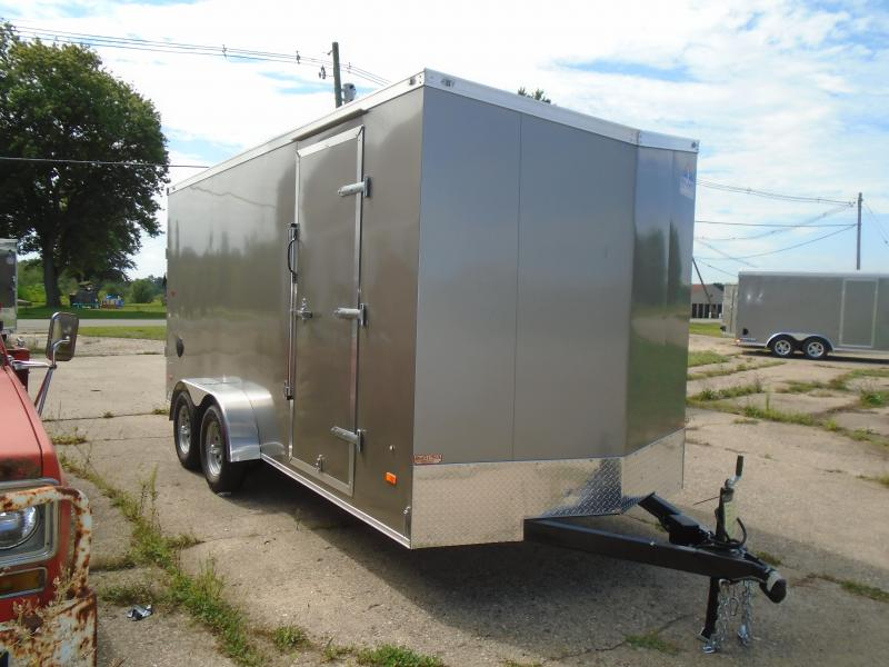 2021 Haul-About 7x16 7k Enclosed Cargo Trailer