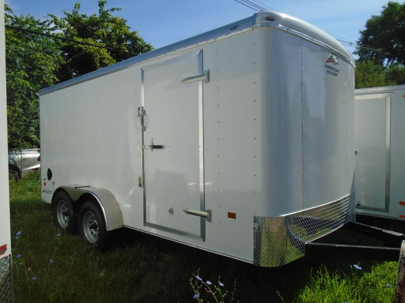 2020 American Hauler 7x16 7k Air Lite Enclosed Cargo Trailer