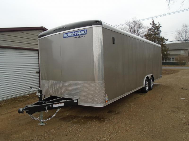 2021 Sure-Trac 8.5x24 10k Pro Round Top Car / Racing Trailer
