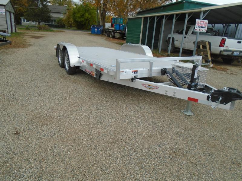 "2021 H and H Trailer 82""X18' EX 7K Speedloader Car / Racing Trailer"