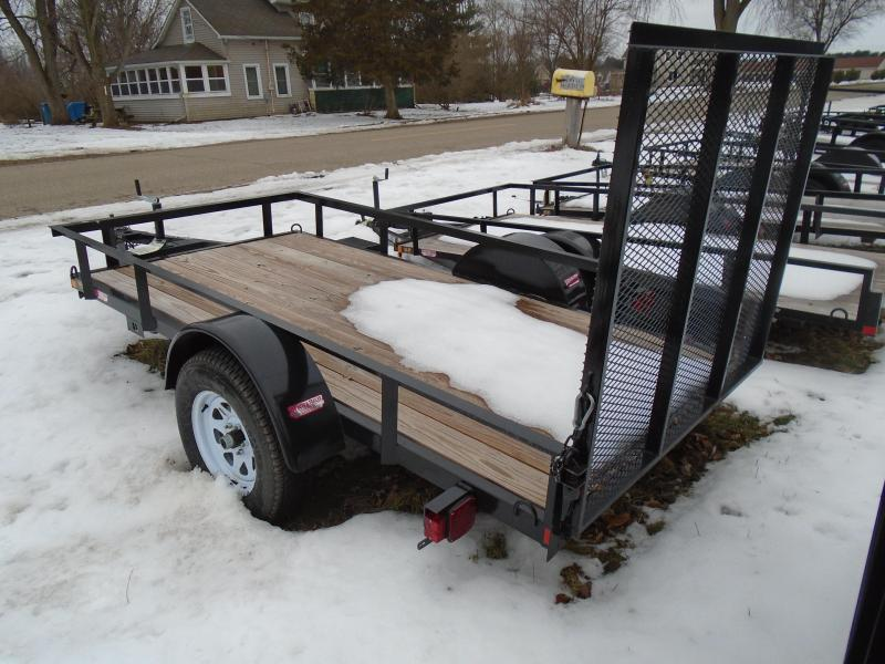2021 GE 5x10 HD Utility Trailer w/ gate