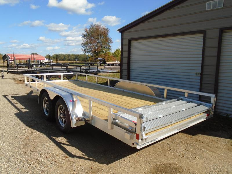 "2021 H and H Trailer 82""x16' 7k Utility Trailer"
