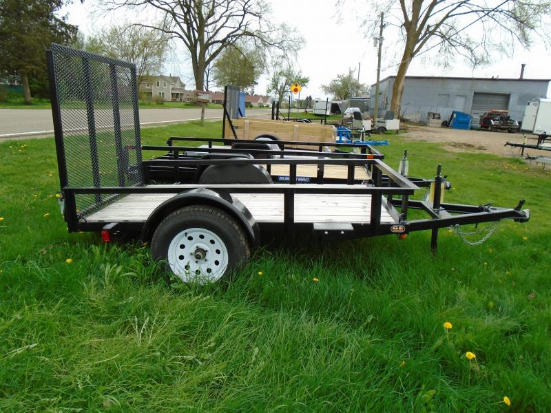2021GE 5X8 Utility Trailer with Gate