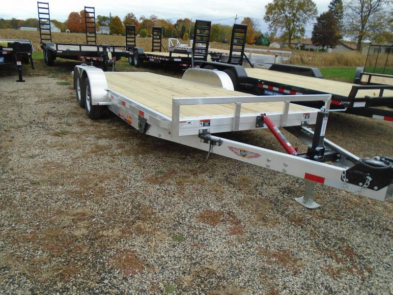 "2021 H and H Trailer 82""x20' MX 7K Speedloader Car / Racing Trailer"