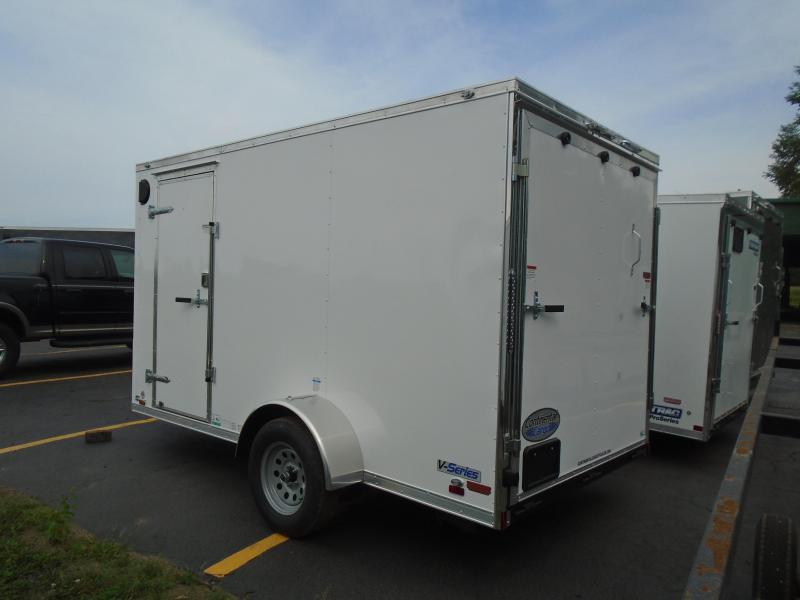 2021 Continental Cargo 6.5x12 V Series Enclosed Cargo Trailer