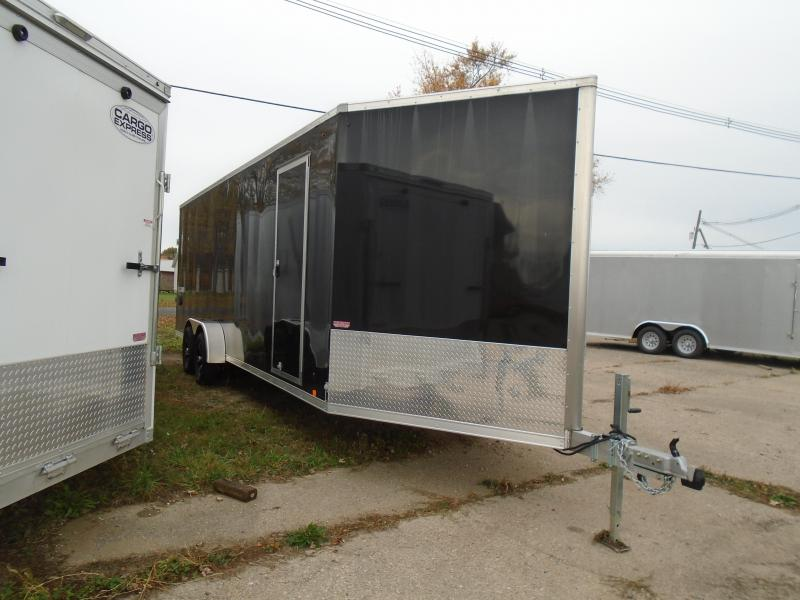 2019 Look Trailers Used 7x29 7k Snowmobile Trailer