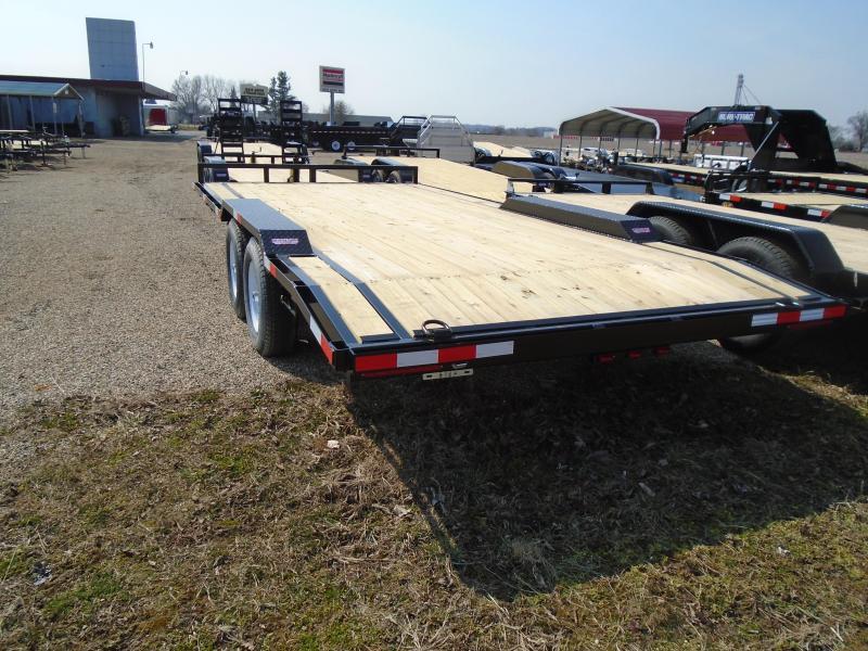 2021 GE 18' 10k drive over fender Equipment Trailer