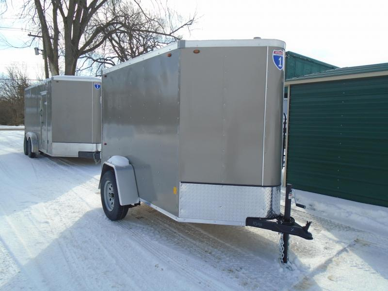 2021 Interstate 1 Trailers 5x8 SA Enclosed Cargo Trailer