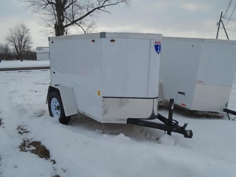 2021 Interstate 1 Trailers 4x6 SA Enclosed Cargo Trailer