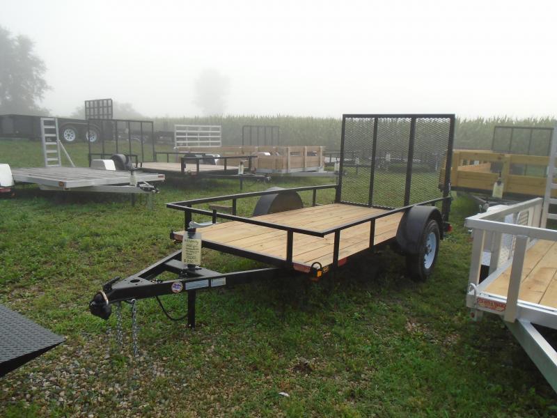 2021 GE 5x10 utility A frame Trailer 2k w/ gate