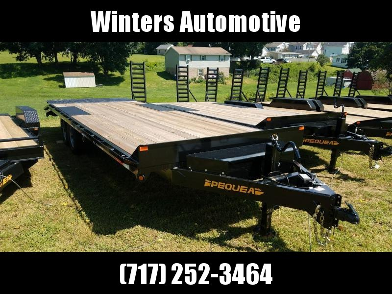2021 Pequea DECKOVER 24 Flatbed Trailer LEVEL