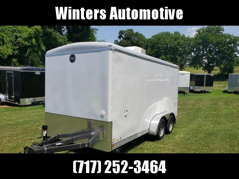 2021 Wells Cargo WHD8520T2 Concession Enclosed Cargo Trailer