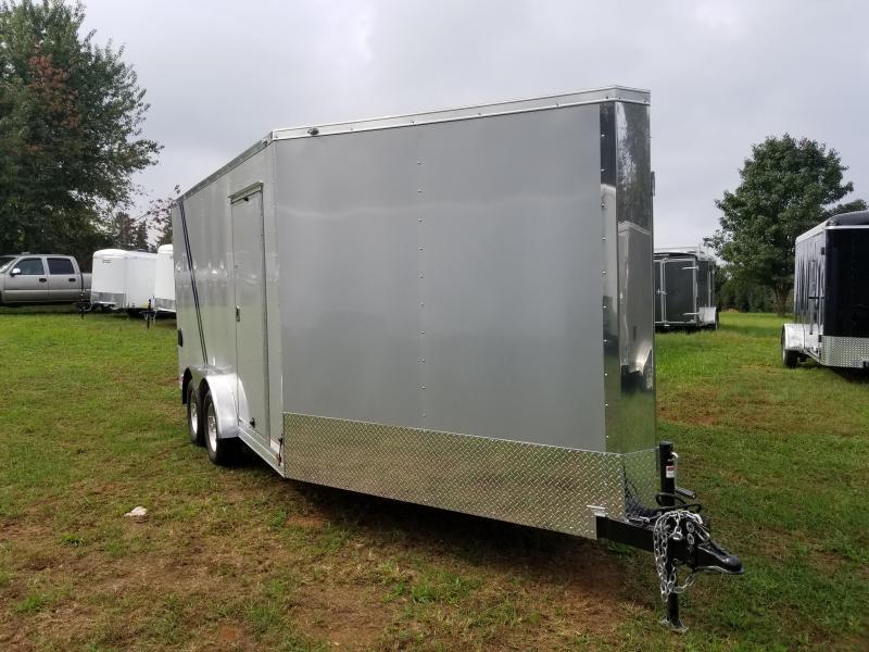 2019 Continental Cargo VHW714TA2 Snowmobile Trailer