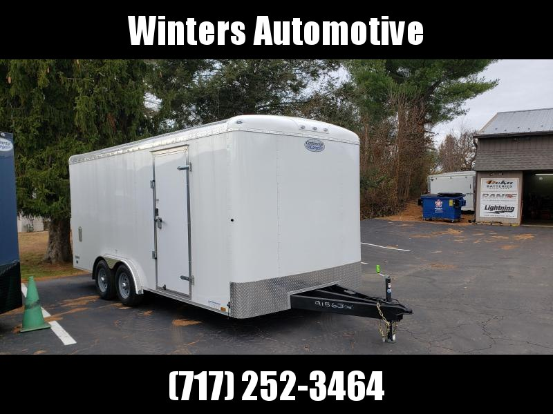 2021 Continental Cargo TW8.5x18TA3 Enclosed Cargo Trailer