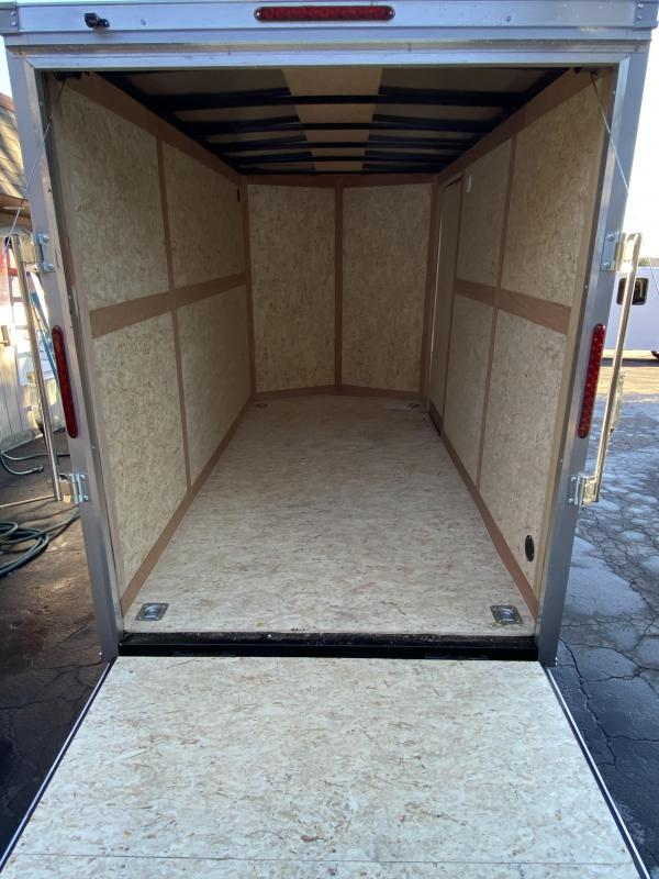 2021 Haulmark PP 6x12S2-D Enclosed Cargo Trailer