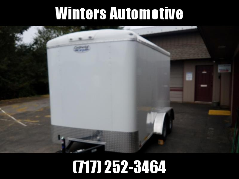 2021 Continental Cargo TW712TA2 Enclosed Cargo Trailer