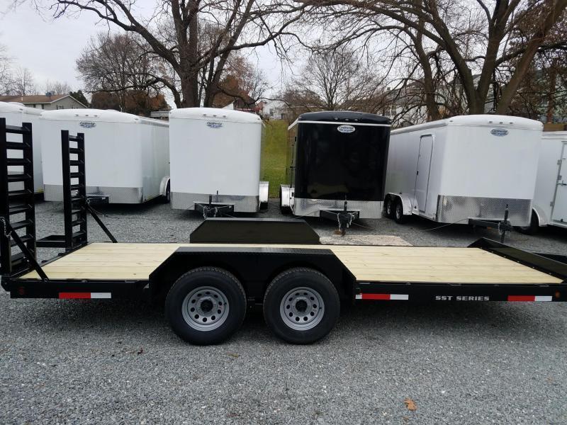 2019 Pequea SKID STEER 20 Equipment Trailer